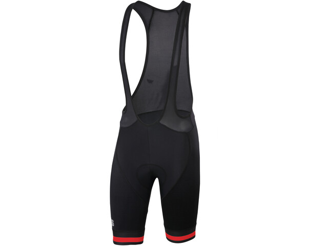 Sportful Bodyfit Team Classic Bib Shorts Herr black/red